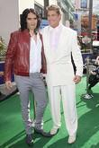 Russell Brand and David Hasselhoff