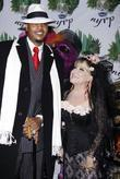 Carmelo Anthony and Bette Midler