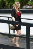 Hayley Westenra outside the ITV studios London, England