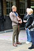 Jeff Brazier at the ITV studios London, England