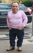 Warwick Davis at the ITV studios London, England