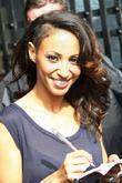 Amelle Berrabah of Sugababes at the ITV studios...