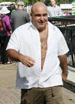 Stavros Flatley outside the ITV studios London, England