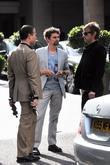 Matt Bellamy, Dom Howard and Muse