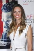 Hilary Swank and Grauman's Chinese Theatre