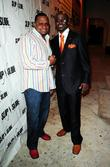 Slip-n-Slide founder Ted Lucas and comedian Marvin Dixon...