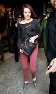 Jena Malone  leaving Harrods department store London,...