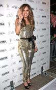 Jennifer Lopez arrives at The Grove to be...