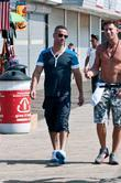 Michael Sorrentino aka The Situation walking along the...