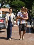 Jessica Alba, Cash Warren and their daughter Honor...