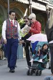 Johnny Hallyday, Laeticia Boudou, Disneyland