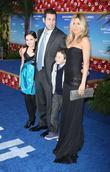 Bailee Madison, Adam Sandler, Griffin Gluck and Jennifer Aniston