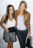 Angela Sun and Candace Kroslak Jessica Paster celebrates...