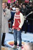 Matt Lauer and Justin Bieber