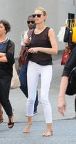 Karolina Kurkova out and about in New York...