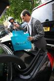 Atmosphere - Shopping bags Kate Moss seen visits...
