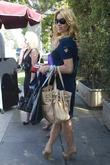 Adrienne Maloof Celebrities depart Il Cielo in Beverly...