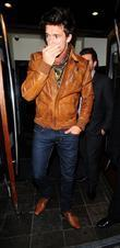 Argentinian model Leandro Penna leaves Gem Bar in...