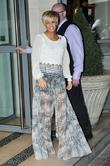Kerry Katona leaving her hotel in London London,...
