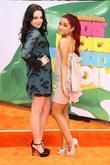 Elizabeth Gillies and Ariana Grande