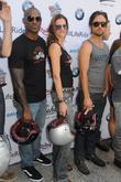 Tyson Beckford, Justin Chatwin and Tricia Helfer