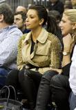 Kim Kardashian and New Jersey Nets