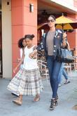 Kimora Lee Simmons and Rowan Atkinson