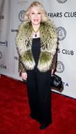 Joan Rivers Larry King is honored at the...