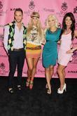 Josh Strickland, Angel Porrino, Holly Madison and Laura Croft