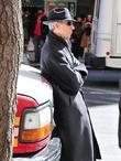 Richard Belzer  on the set of 'Law...