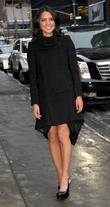 Olivia Munn Celebrities outside The Ed Sullivan Theater...