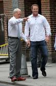 David Letterman and Josh Hamilton