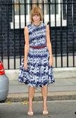 Anna Wintour London Fashion Week Downing Street Reception...