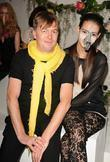 Markus Lupfer and Models and London Fashion Week
