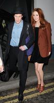 Matt Smith, Karen Gillan and Pam Hogg
