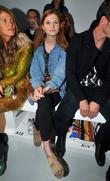 Bonnie Wright and London Fashion Week