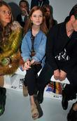 Bonnie Wright and London Fashion Week