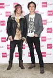 Dougie Poynter and Tom Fletcher of McFly London...