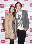 Tom Fletcher of McFly with his fiance Giovanna...