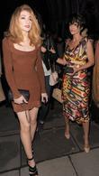 Nicola Roberts, Sarah Harding and Vivienne Westwood