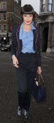 Erin O' Connor and London Fashion Week