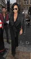 Nancy Dell'Olio and London Fashion Week