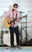 Shane Harper,  performing at Macy's Annual Summer...