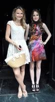 Amber Atherton and Rosie Fortescue (right),  of...