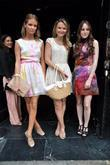 Amber Atherton and Rosie Fortescue and Millie MacIntosh,...
