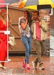 Brooke Vincent and Charlie Condou