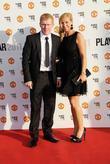 Paul Scholes and Claire Scholes