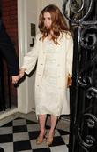 Amy Adams leaves Mark's Club in Mayfair after...