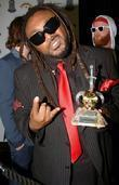 Benji Webbe of Skindred, winner of Best Live...