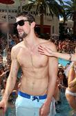 Michael Phelps Olympian Michael Phelps attends the Encore...